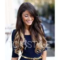 extensii-blond-black-ombre-tapeon
