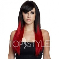 extensii-red-black-ombre-tapeon-d